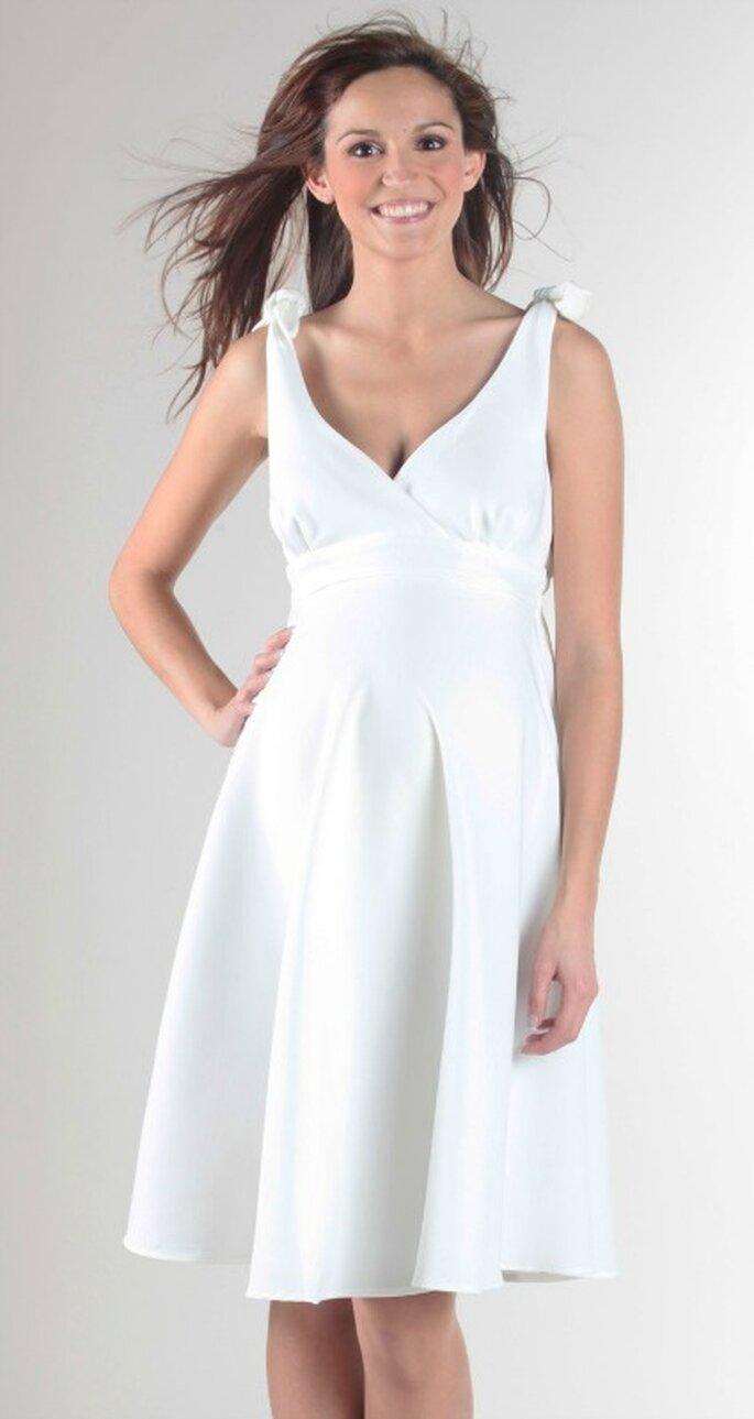 Robe de mariée pour femme enceinte - Source : Envie de Fraises