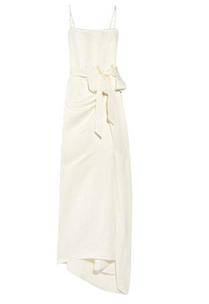 Vestido de novia de tirantes de Lanvin