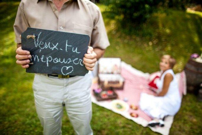 Demande en mariage romantique, insolite, surprenante et scénarisée - Photo : Alex Havret
