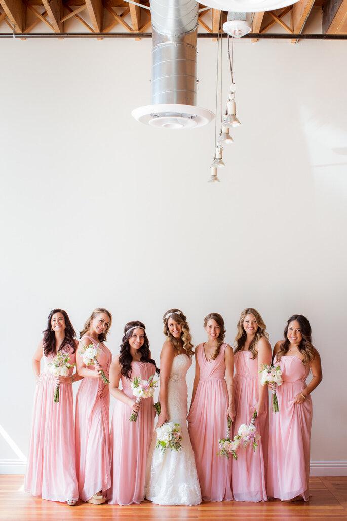 Damas de honor para la boda. Foto- The Youngrens