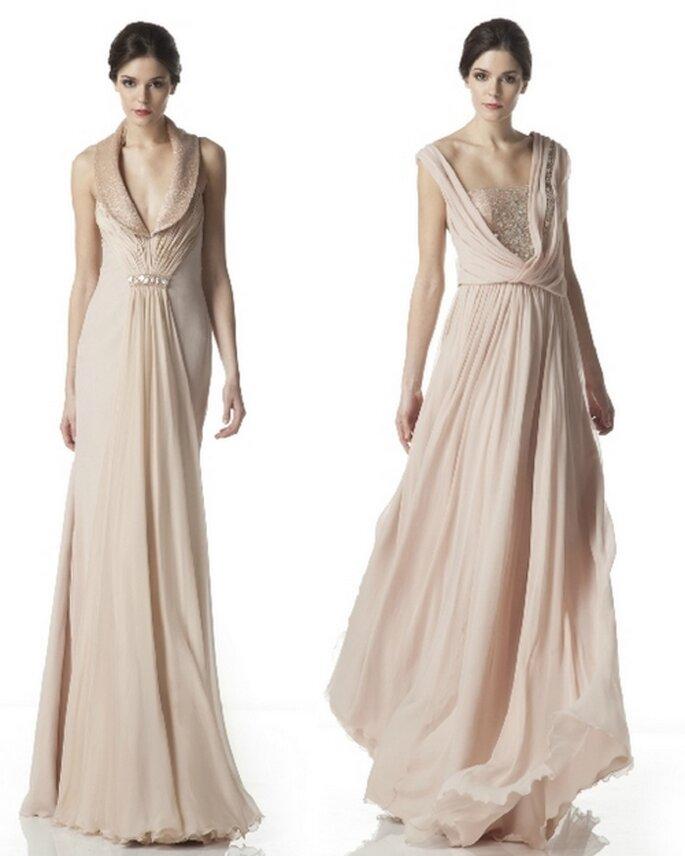 Vestidos de novia Otoño Invierno 2012, colección de Georges Hobeika
