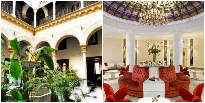 Hotel Palacio de Villapanés y Hotel Gran Meliá Colón