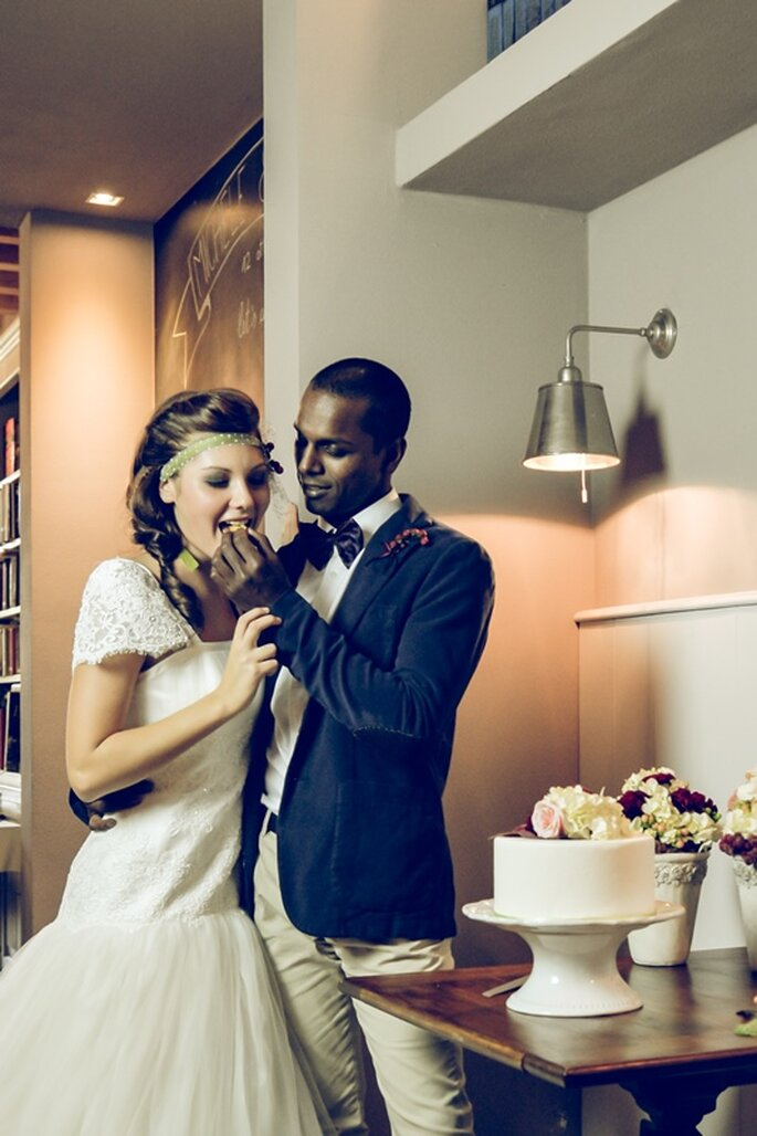 Wedding Cake: Nadia - Foto via Oui Darling