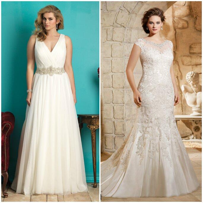 Robes de mariée, Allure Bridals et Mori Lee
