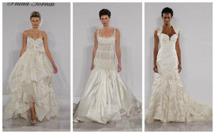3 modelli ultra femminili della Collezione 2012 di Pnina Tornai