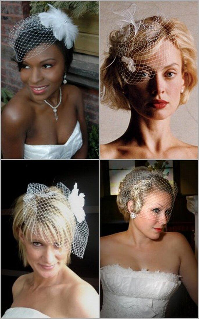 Photos via Westren Bridal, Veil Tales and Preparing for the Wedding