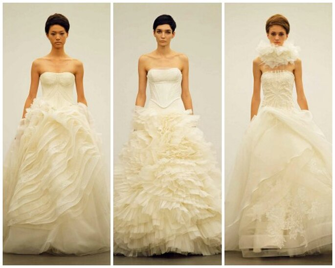 Robes de mariée Vera Wang automne 2013. Photo: www.verawang.com