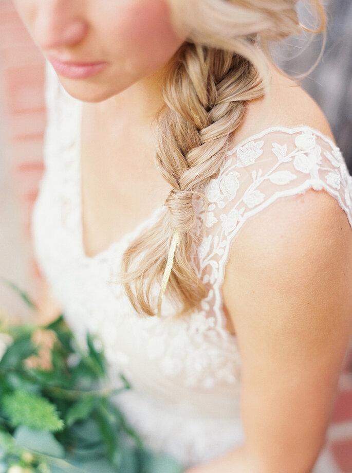 Peinados románticos 2016 - Ashley Bosnick Photography