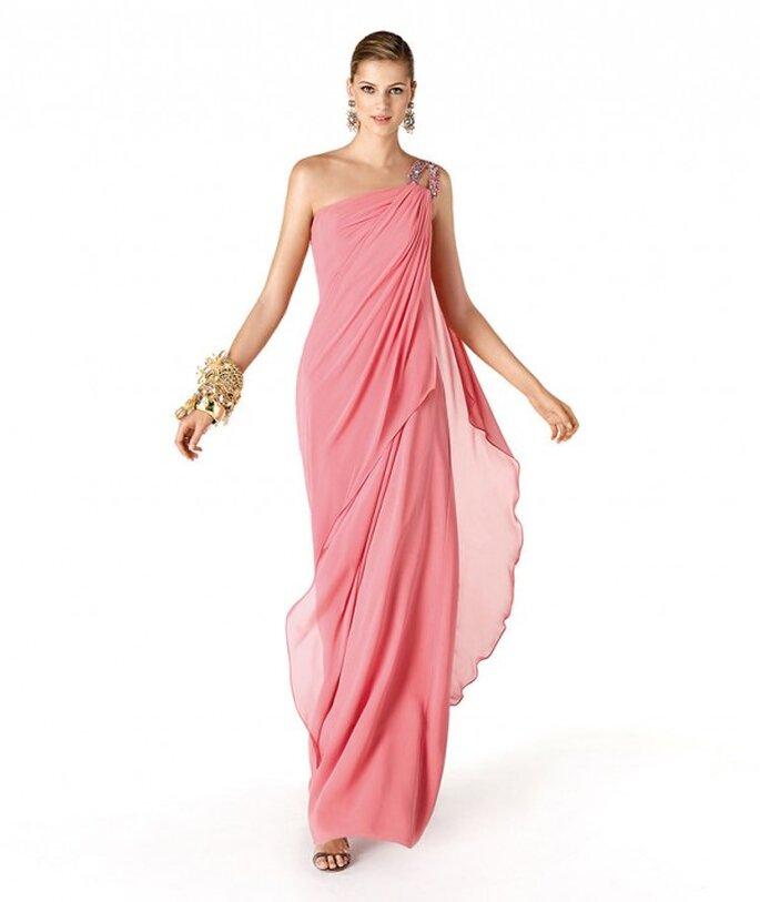 Descubre cuál es el mejor color de vestido para tus damas de boda - Foto La Sposa