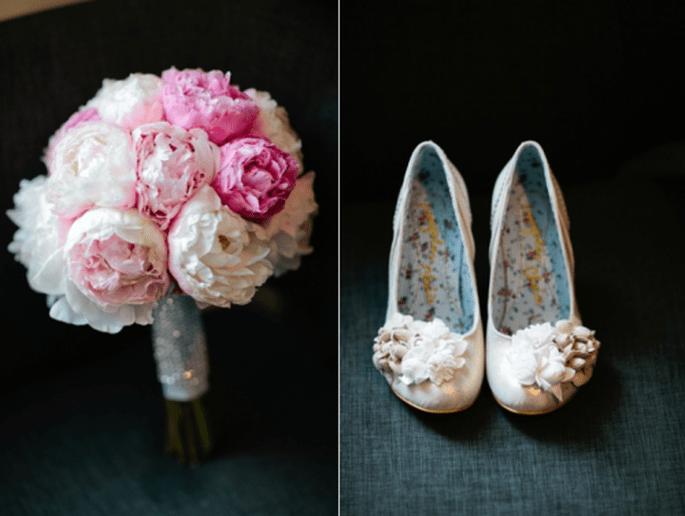 Zapatos de novia para boda 2013 en color nude. Fotografía Bianca Valentim