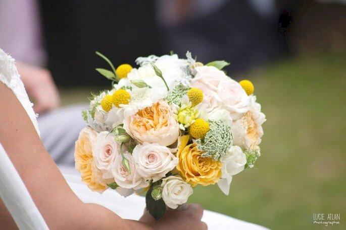 Bouquet rond créé par L'Atelier Miguel/Lucie Atlan Photographie