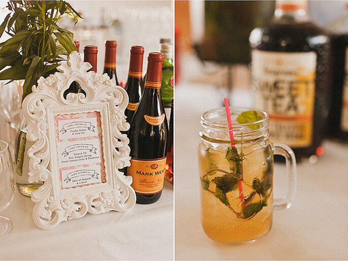 El vino y la cidra son bebidas predilectas de otoño. Foto de Sweet Little Photographs
