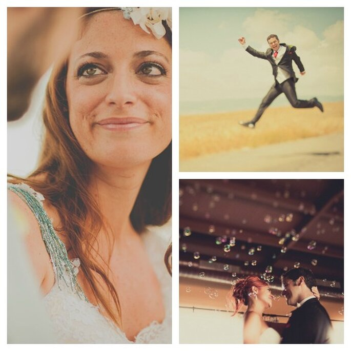 ¡Queremos un novio que participe de toda la boda y mucha diversión! Fotos: Fran Russo