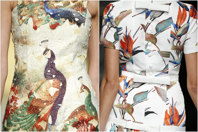 Modelos: Ana Torres e Carla Ruiz | Foto: Barcelona Bridal Week