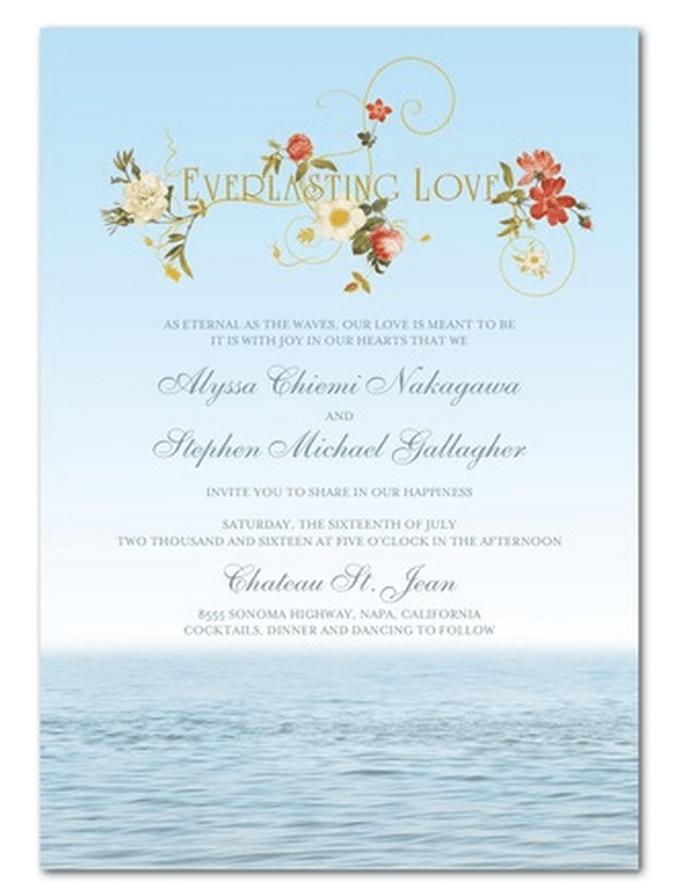 Invitaciones de boda estilo vintage de Claire Pettibone - Foto Wedding Paper Divas