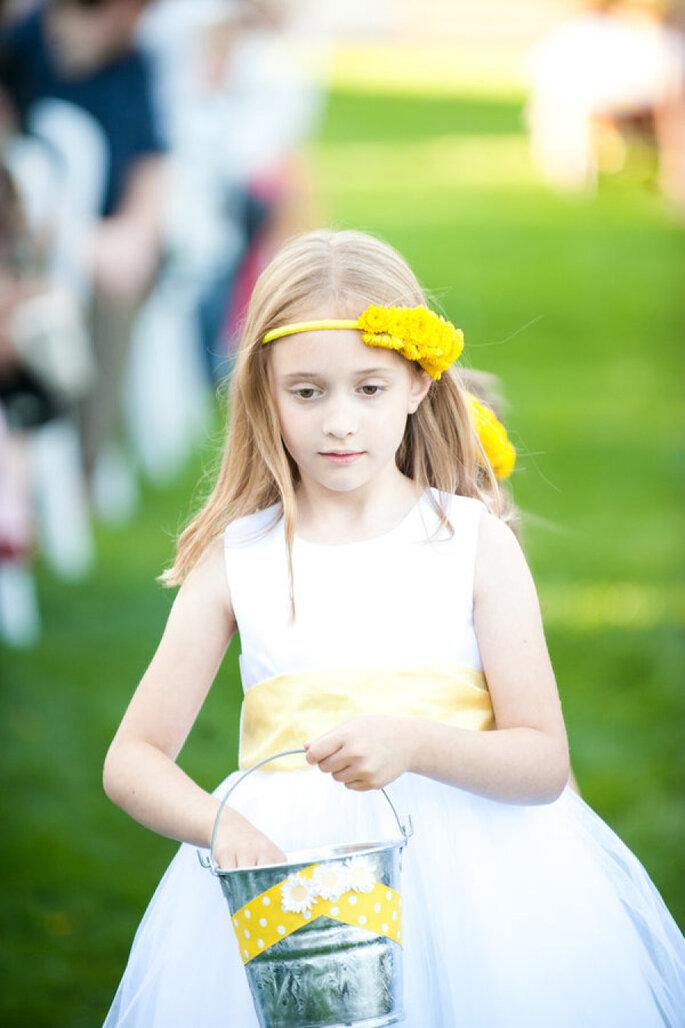 Decoración en amarillo intenso - Erich McVey Photography