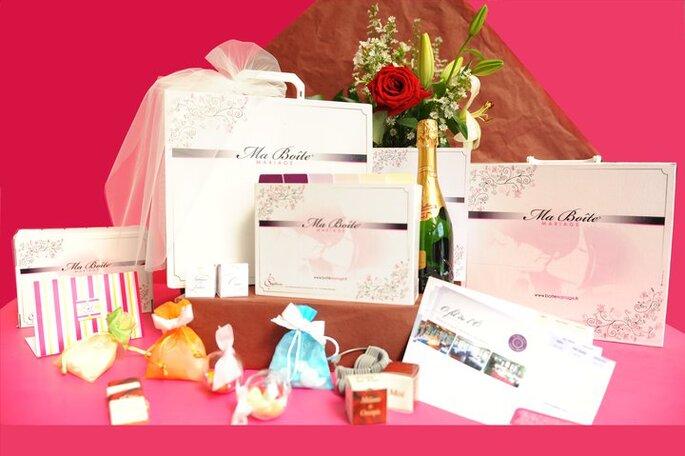 Ma boîte Mariage : unconcept novateur qui va séduire les futurs mariés...