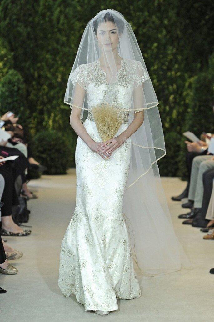 Vestido de novia Anastasia de Carolina Herrera - Colección Primavera 2014. Foto: www.carolinaherrerabride.com