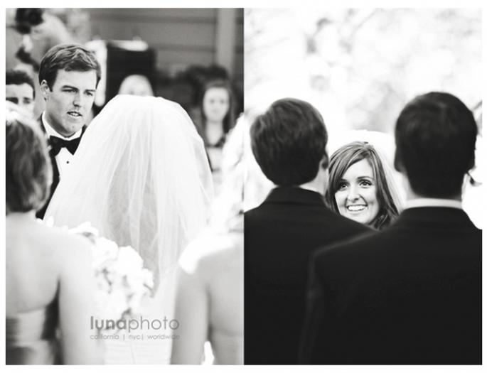 ¿Por qué las fotos de boda en blanco y negro son las más bonitas? - Foto Luna Photo
