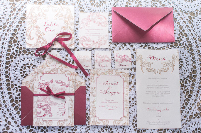 Stationery: Peperosa Wedding
