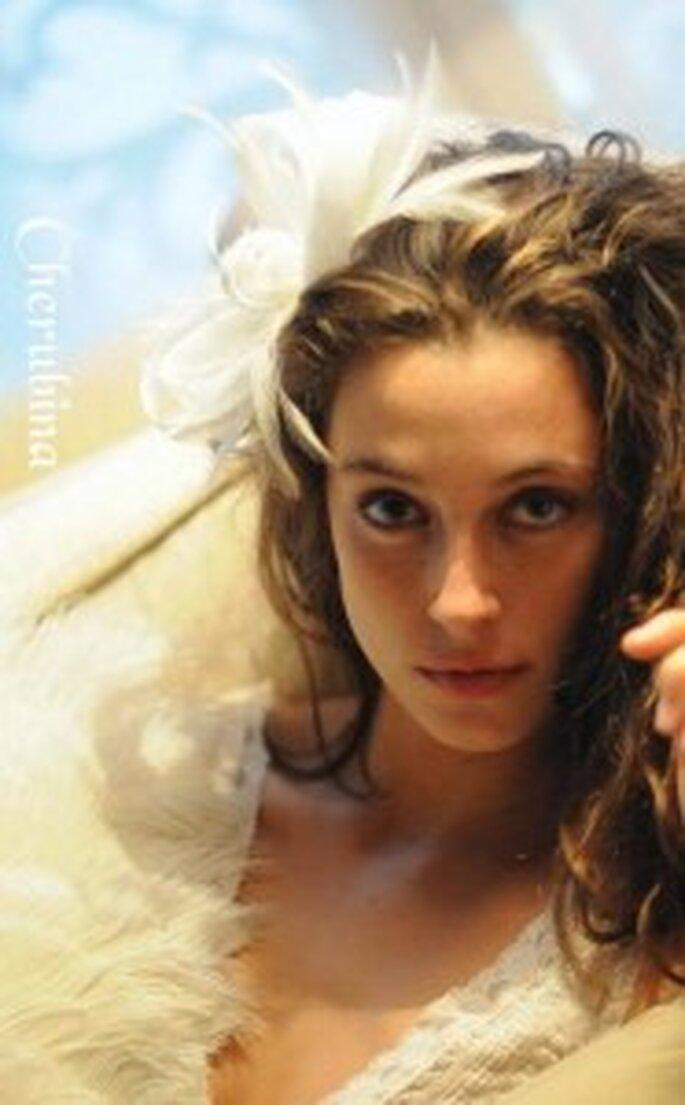 Tocados para novias de Cherubina