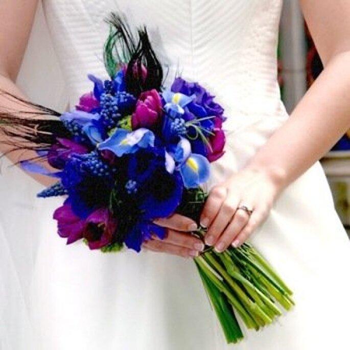 Transmitir tu personalidad a tu ramo de novia es sencillo y original