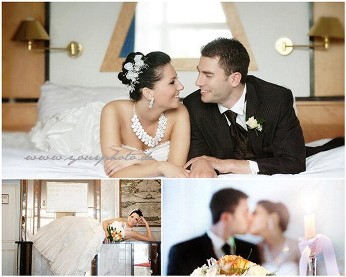 Hochzeit von Nadja und Alexander - Fotos: yourphoto.de.