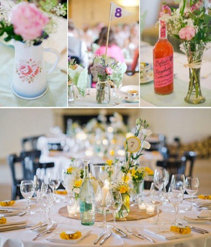 Tendencias en decoracion floral para una boda en 2013 - Foto Nadia Meli