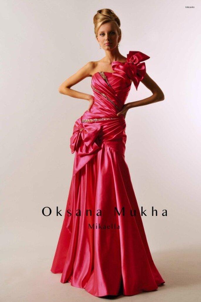 Robe de soirée longue Oksana Mukha 2012, modèle Mikaella