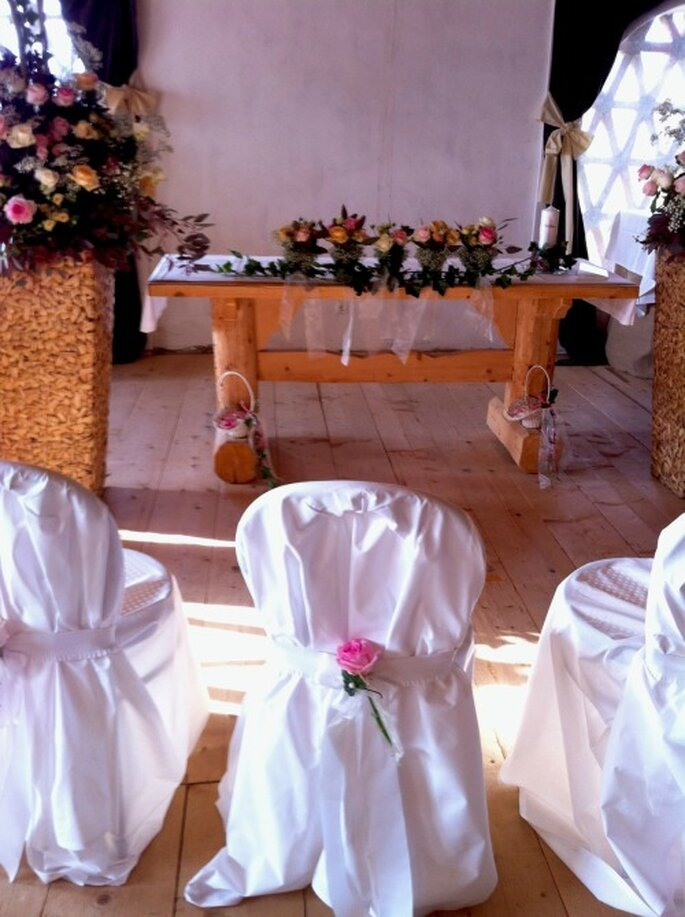 Feiern Sie eine romantische Hochzeit in Lilli´s Feststadl!