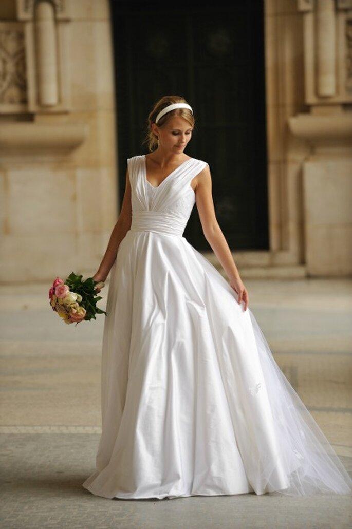 Robe de mariée Catherine Varnier - Modèle : Audrey
