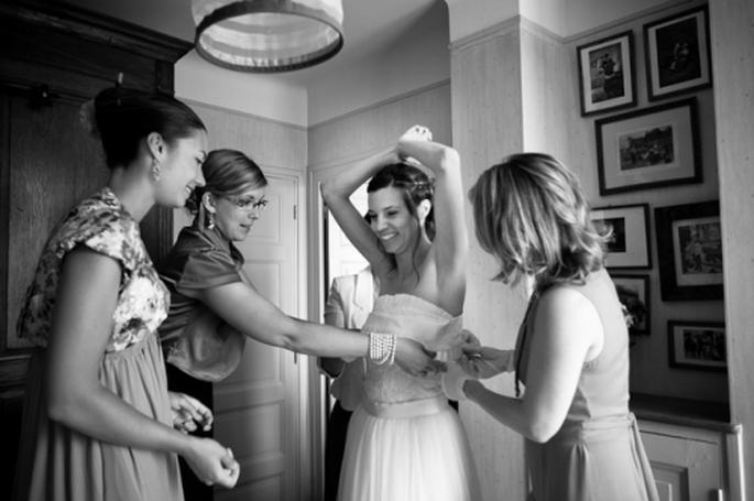 Mettez à contribution vos amis et témoins ! - Photo : Trendy wedding
