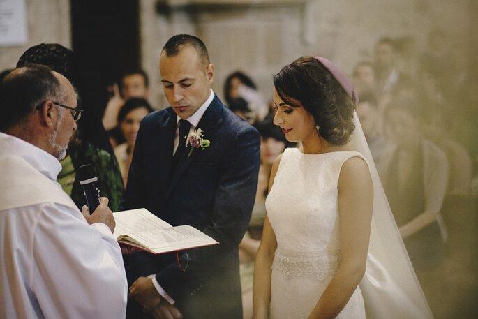 boda religiosa con cura