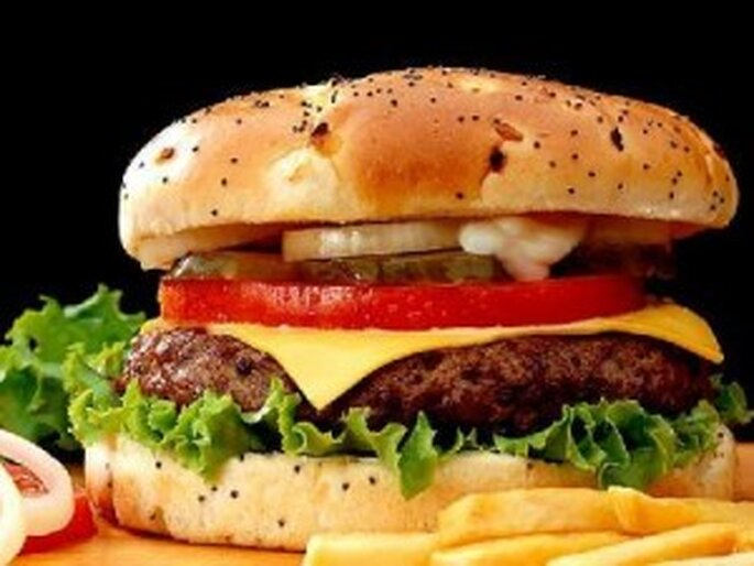 Una de las especialidades de la cadena de comida rápida