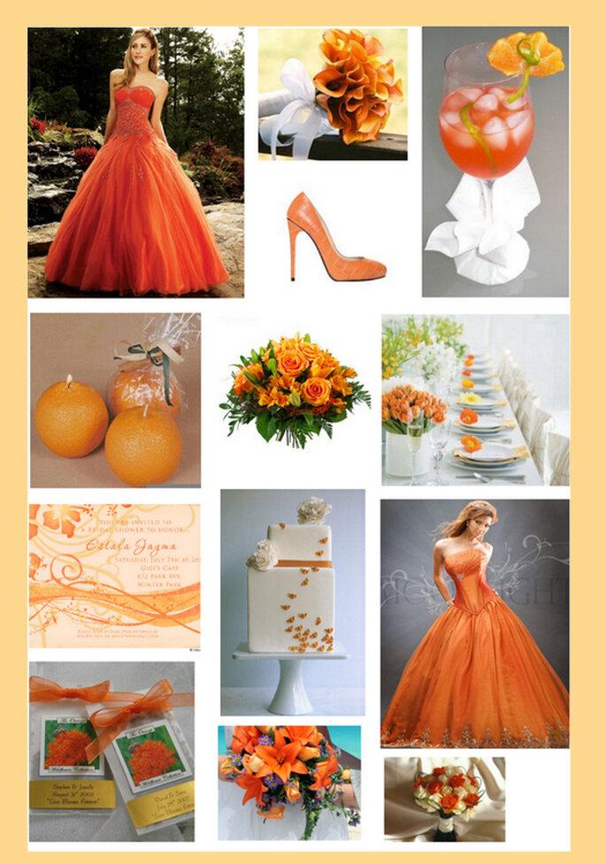 L'arancione in tutte le sue gradazioni -credits: Saragreen