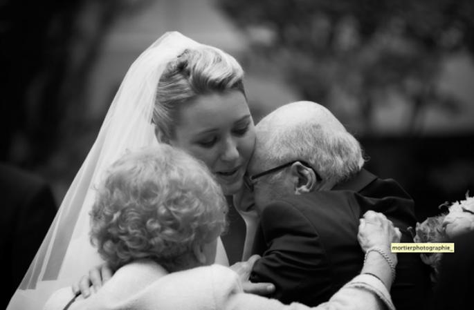 Les relations avec la famille pendant l'organisation du mariage : un point pas toujours évident - Photo : mortierphotographie