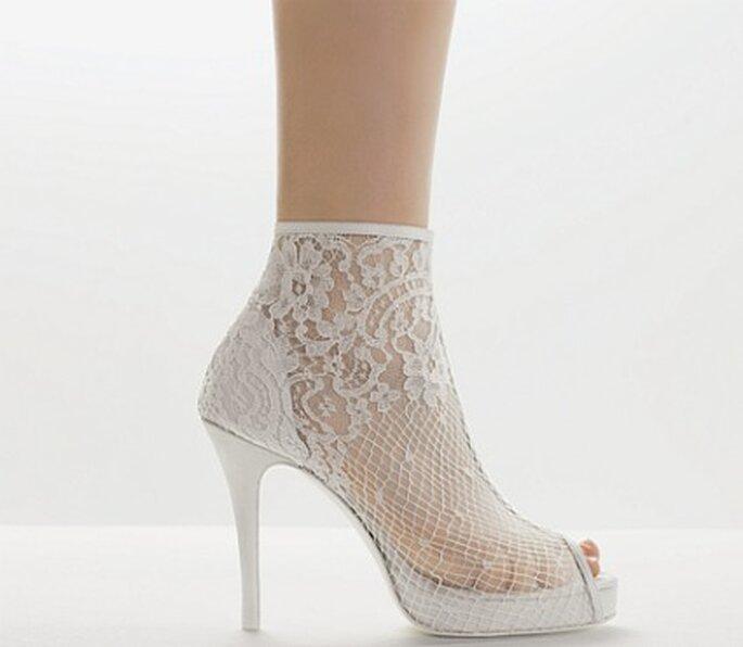 Zapatos de encaje de Rosa Clará