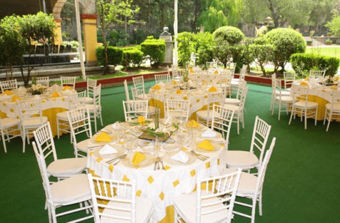 Montaje de boda y servicio de calidad en banquetes - Foto Grupo Montblanc
