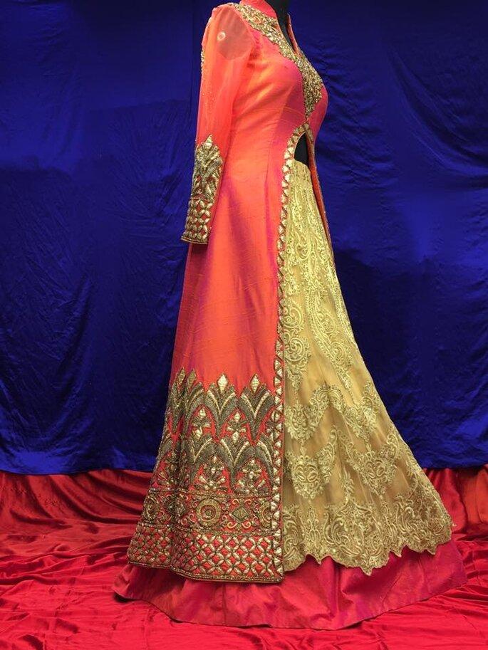 Bridal Lehnga: Sudhir Bhai Saree Wala.