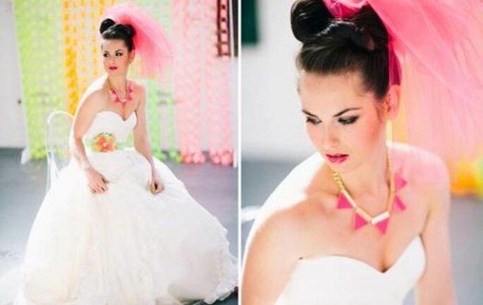 Estilo de la novia vanguardista - Foto Cathrin D'Entremont