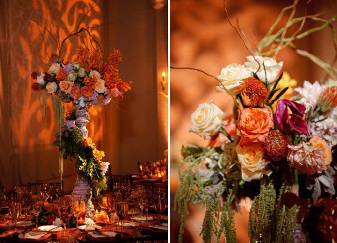 Los centros de mesa con flores más elegantes para 2014 - Foto Yvette Roman