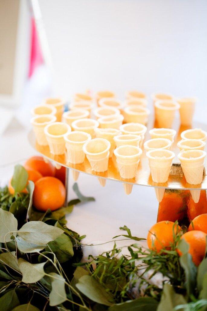 Deliciosos helados para tus invitados de boda - Foto Ashlee Raubach