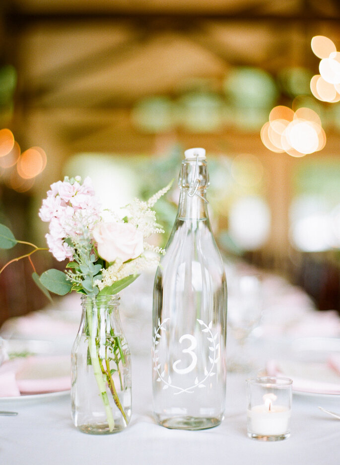 Numeración de mesas - Connie Dai Photography
