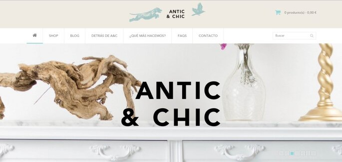 Blog Antic & Chic