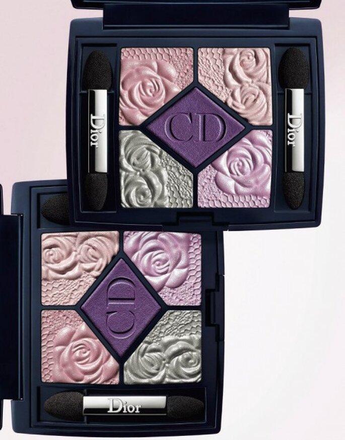 Maquillaje ombré - Foto Christian Dior Facebook