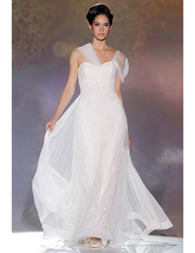 Brautkleid von Novia d'Art aus der Kollektion 2012: einer griechischen Göttin gleich...