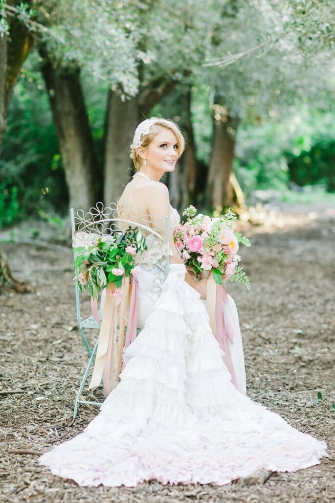 Eine perfekte Hochzeit in rosa - Foto Avec L'Amour Photography