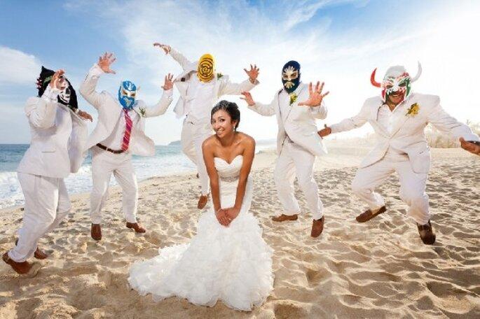 Artículos de animación para bodas - Foto Dino Gómez Photography