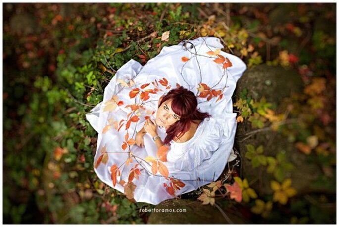 Decoración de boda en otoño. Foto: Roberto Ramos