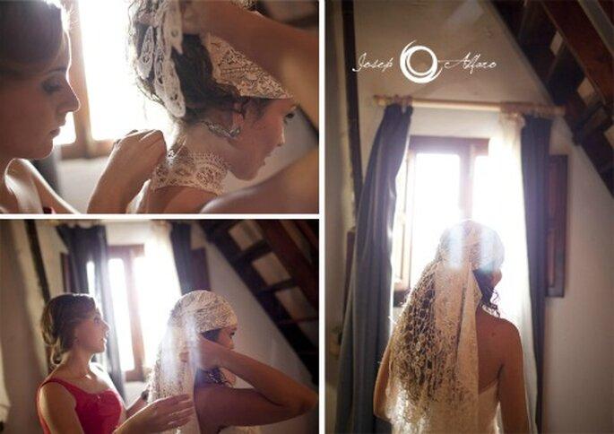 Das Brautkleid - eines der wichtigsten Symbole der Hochzeit. Foto: Josep Alfaro